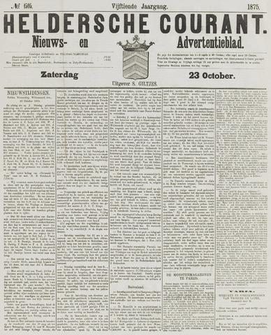 Heldersche Courant 1875-10-23