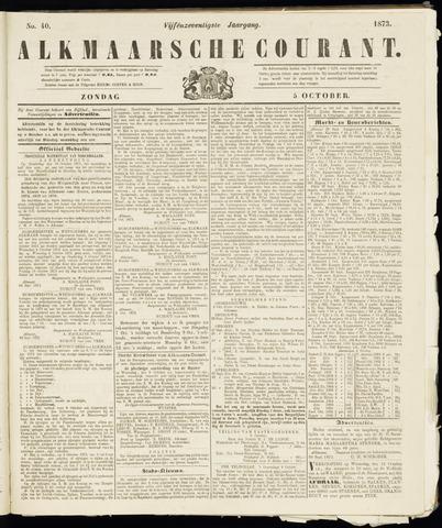 Alkmaarsche Courant 1873-10-05
