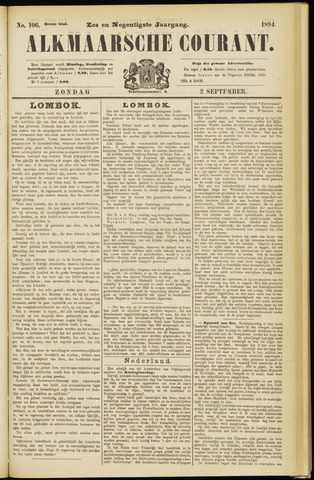 Alkmaarsche Courant 1894-09-02