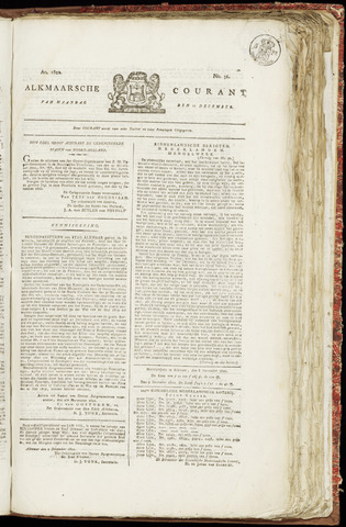Alkmaarsche Courant 1820-12-11