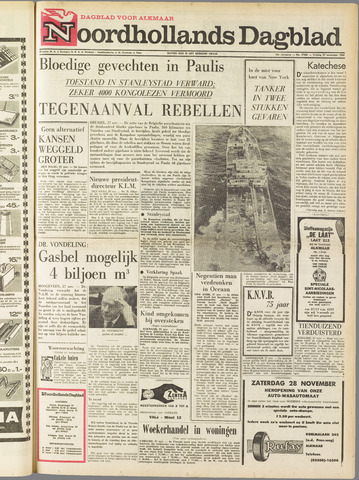 Noordhollands Dagblad : dagblad voor Alkmaar en omgeving 1964-11-27