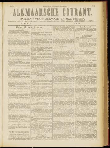 Alkmaarsche Courant 1915-03-02