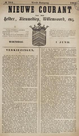 Nieuwe Courant van Den Helder 1864-06-01
