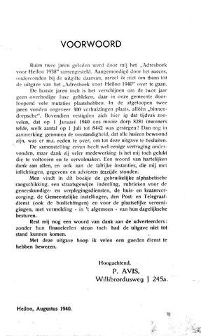 Adresboek van Heiloo 1940-01-01