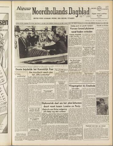 Nieuw Noordhollandsch Dagblad : voor Alkmaar en omgeving 1950-06-03