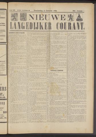 Nieuwe Langedijker Courant 1923-10-11