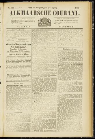 Alkmaarsche Courant 1893-10-25
