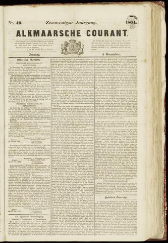 Alkmaarsche Courant 1864-12-04