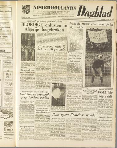 Noordhollands Dagblad : dagblad voor Alkmaar en omgeving 1960-01-25