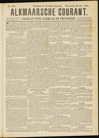 Alkmaarsche Courant 1905-12-20