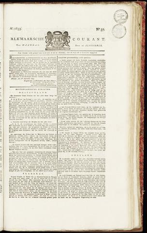 Alkmaarsche Courant 1833-09-16