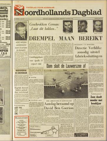 Noordhollands Dagblad : dagblad voor Alkmaar en omgeving 1969-05-23