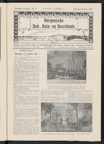 Bergensche bad-, duin- en boschbode 1939-06-24