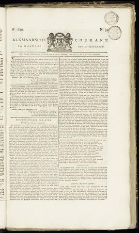 Alkmaarsche Courant 1839-09-30