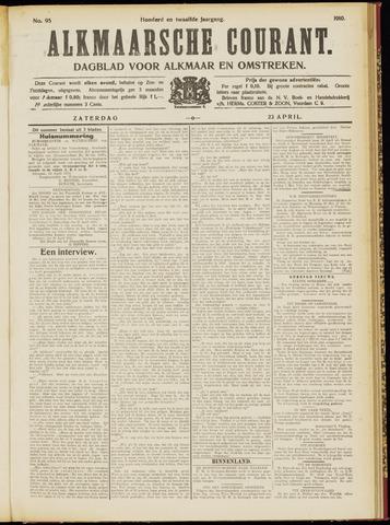 Alkmaarsche Courant 1910-04-23