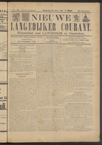 Nieuwe Langedijker Courant 1922-07-22