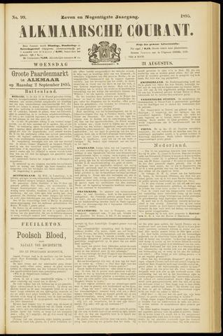 Alkmaarsche Courant 1895-08-21