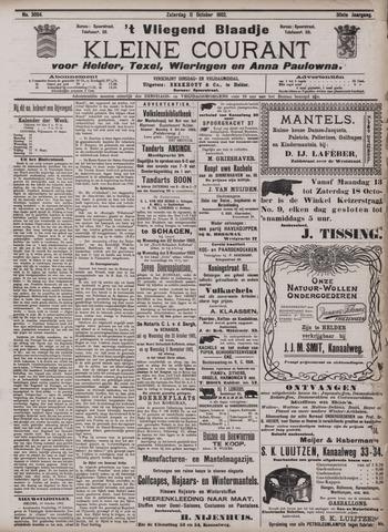 Vliegend blaadje : nieuws- en advertentiebode voor Den Helder 1902-10-11