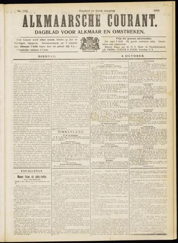 Alkmaarsche Courant 1908-10-06