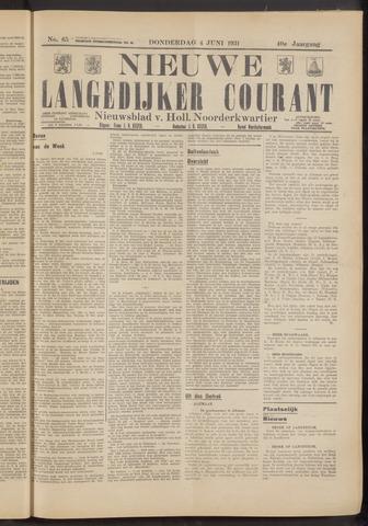 Nieuwe Langedijker Courant 1931-06-04