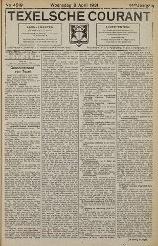 Texelsche Courant 1931-04-08