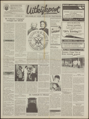 Uitkijkpost : nieuwsblad voor Heiloo e.o. 1988-10-12