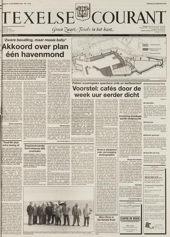 Texelsche Courant 2000-02-22