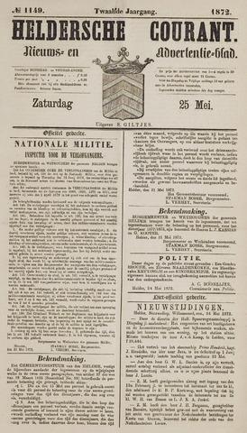 Heldersche Courant 1872-05-25