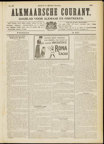 Alkmaarsche Courant 1913-05-28