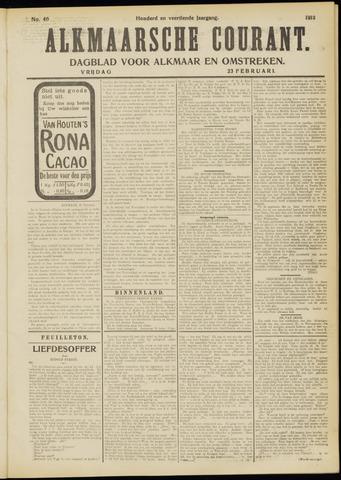 Alkmaarsche Courant 1912-02-23