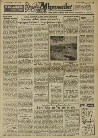 De Vrije Alkmaarder 1949-08-13