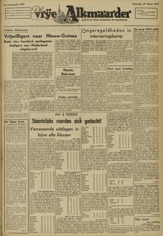 De Vrije Alkmaarder 1947-03-24