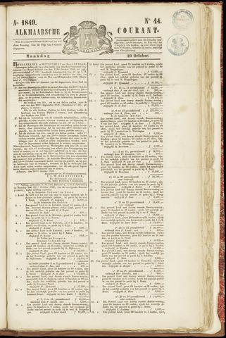 Alkmaarsche Courant 1849-10-29