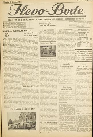 Flevo-bode: nieuwsblad voor Wieringen-Wieringermeer 1948-12-29