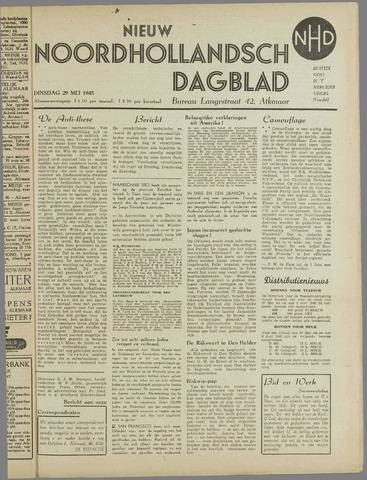 Nieuw Noordhollandsch Dagblad : voor Alkmaar en omgeving 1945-05-29