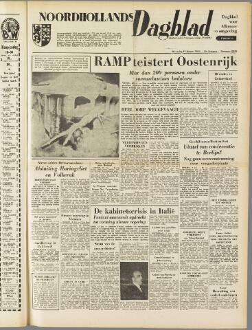 Noordhollands Dagblad : dagblad voor Alkmaar en omgeving 1954-01-13
