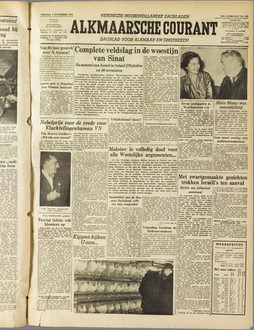 Alkmaarsche Courant 1955-11-04
