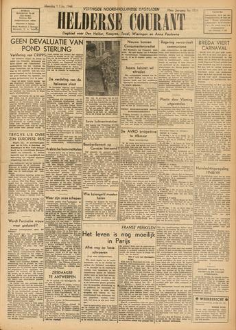 Heldersche Courant 1948-02-09
