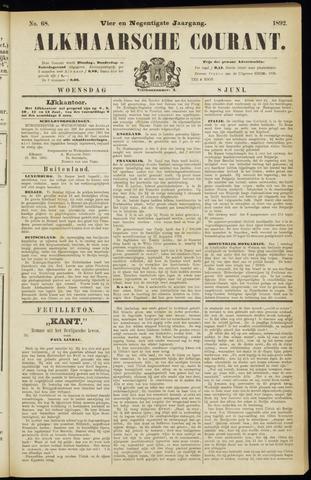 Alkmaarsche Courant 1892-06-08