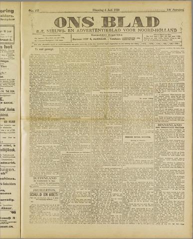 Ons Blad : katholiek nieuwsblad voor N-H 1920-07-06