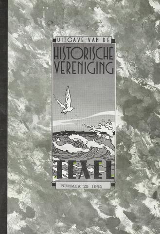 Uitgave Historische Vereniging Texel 1992-12-01