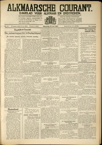 Alkmaarsche Courant 1934-07-23