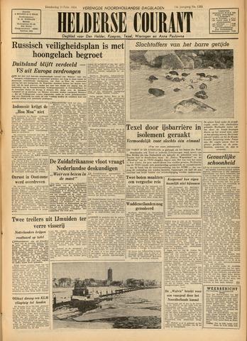 Heldersche Courant 1954-02-11