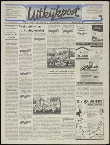 Uitkijkpost : nieuwsblad voor Heiloo e.o. 1993-04-28