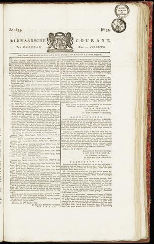 Alkmaarsche Courant 1833-08-12