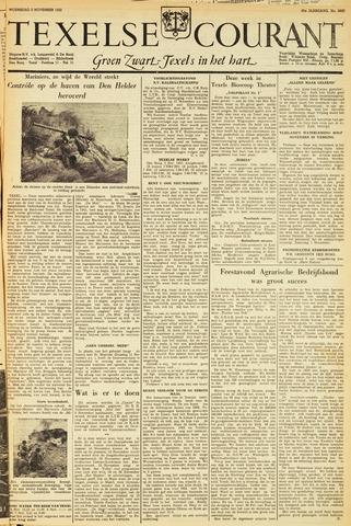 Texelsche Courant 1952-11-05