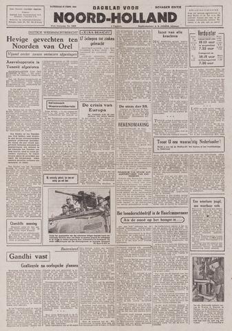 Dagblad Noord-Holland, Schager editie 1943-02-27