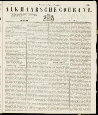 Alkmaarsche Courant 1871-07-02