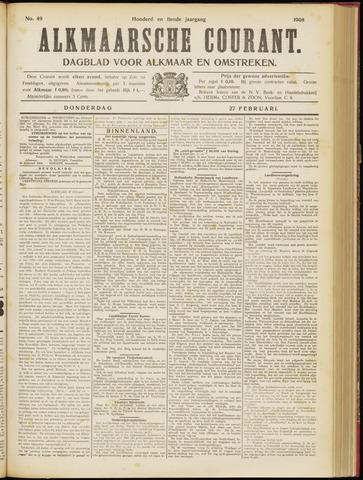 Alkmaarsche Courant 1908-02-27