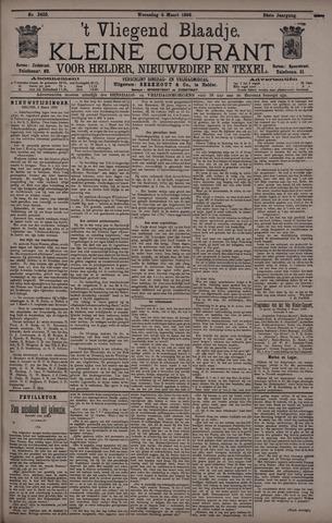 Vliegend blaadje : nieuws- en advertentiebode voor Den Helder 1896-03-04